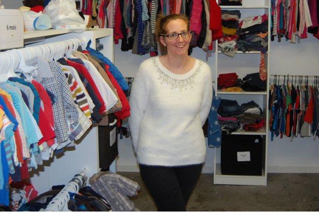 Des vêtements pour enfants à Roumare