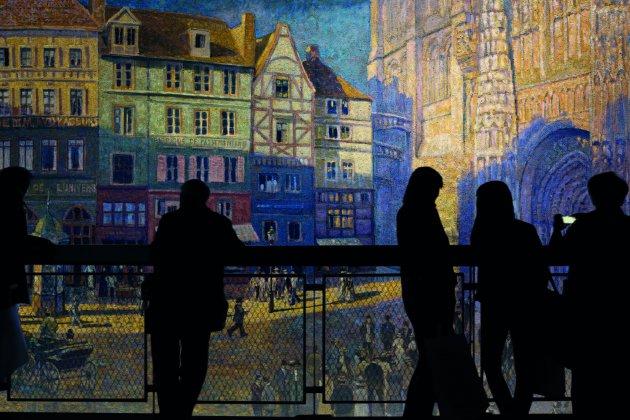 Un panorama inédit de Yadegar Asisi pour Normandie impressionniste