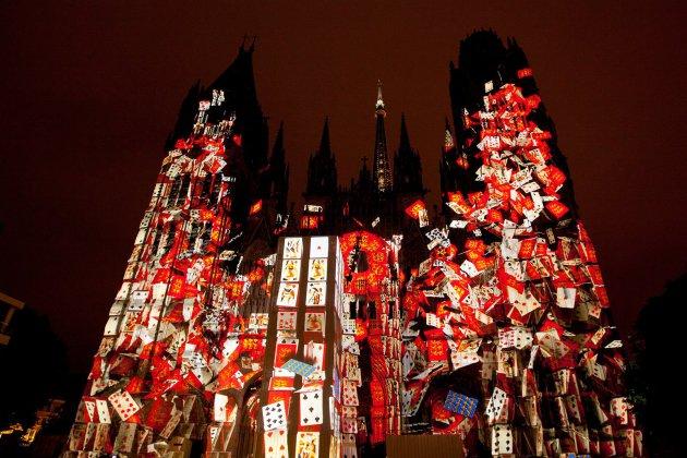 Le spectacle Cathédrale de lumière illuminera l'été!