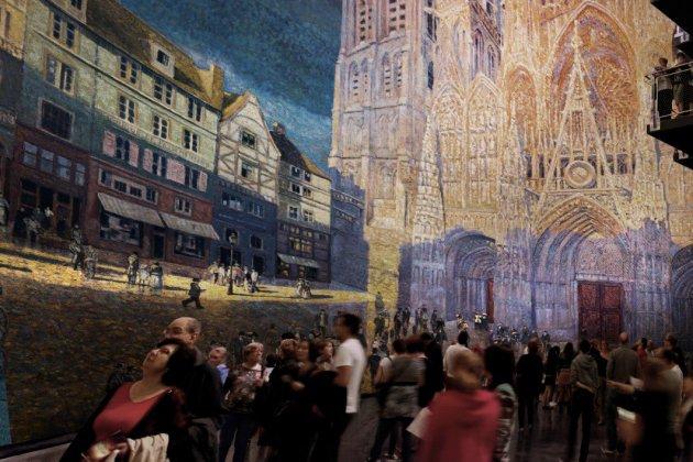 La cathédrale de Monet selon Yadegar Asisi, au Panorama XXL