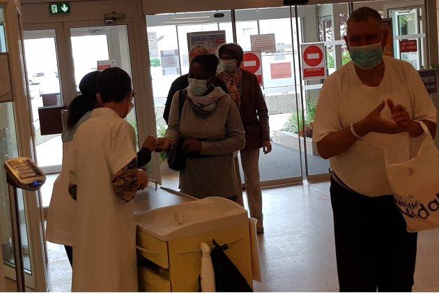 Gestes barrières : le personnel de l'hôpital lance un appel au civisme