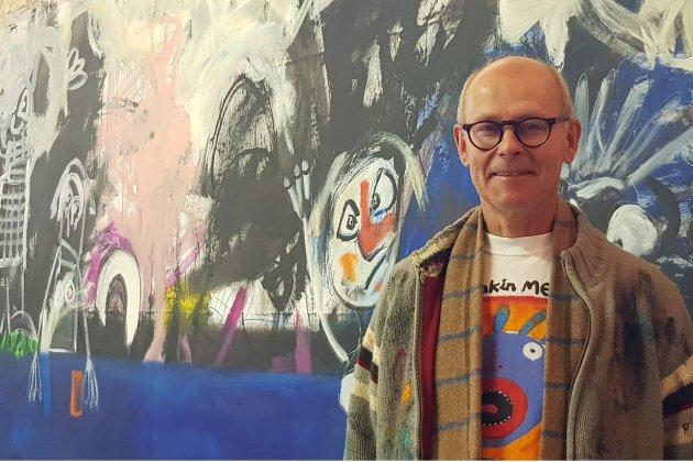 L.Gréo: l'artiste peintre grand format ouvre son atelier aux curieux