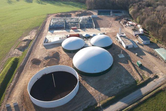 Un nouveau méthaniseur injecte du gaz naturel dans le réseau gaz de ville