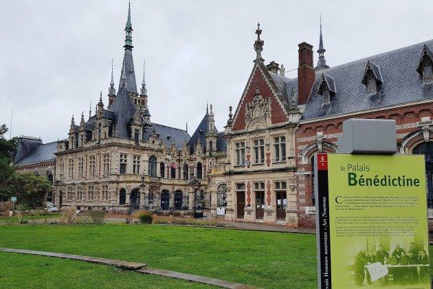 Le Palais Bénédictine est l'entreprise la plus visitée de Normandie