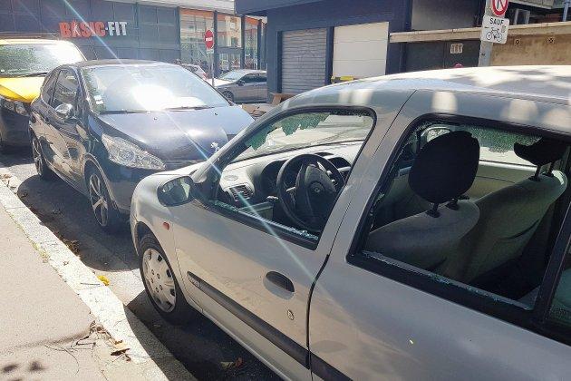 Rétroviseurs cassés, vitres brisées... plusieurs véhicules vandalisés