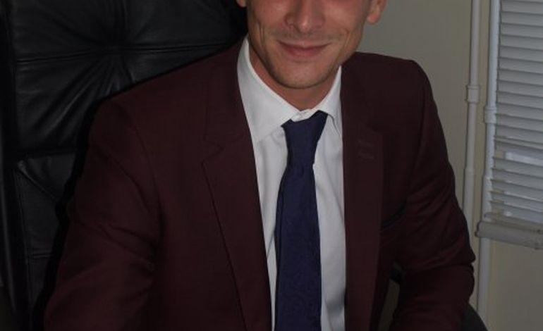 Guillaume Coutey, le plus jeune maire de l'agglomération rouennaise