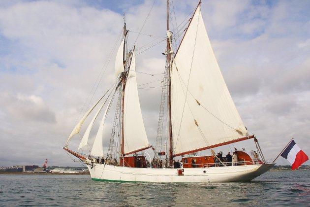 La Belle Poule, voilier-école de la Marine, se visite ce week-end