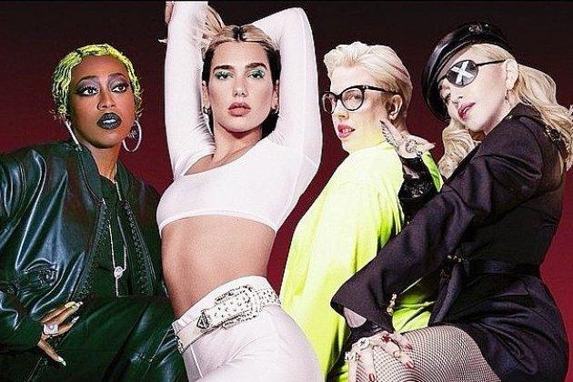 Dua Lipa s'offre un clip avec ses idoles Madonna et Missy Elliott