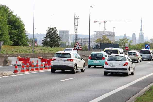 Après plusieurs incidents, la trémie de la Motte fermée à la circulation