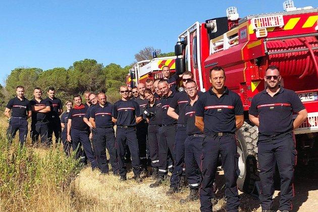 Les pompiers en renfort dans le sud sont rentrés