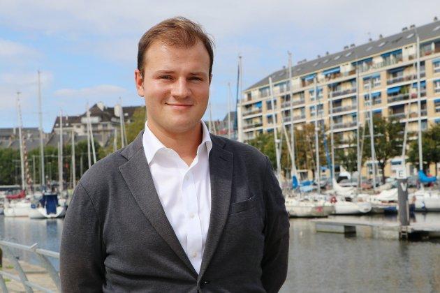 Gabin Maugard: du conseil municipal des jeunes à chargé du Millénaire de Caen