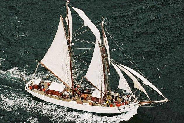 La goélette Étoile, voilier école de la Marine, sera présente ce week-end
