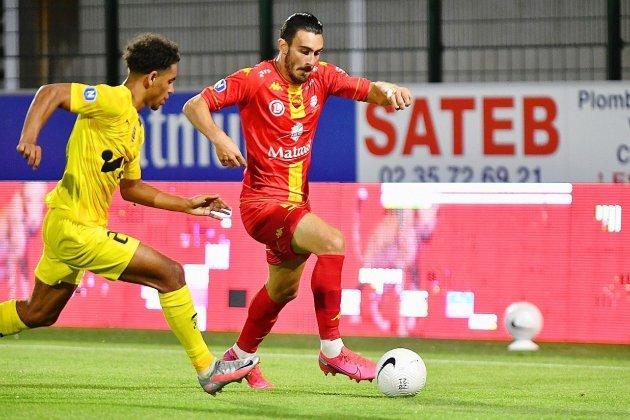 Match nul entre Quevilly Rouen Métropole et Concarneau