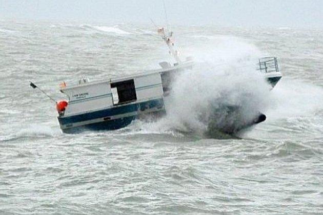 Des vents à plus de 90km/h et des vagues jusqu'à 4 mètresattendus
