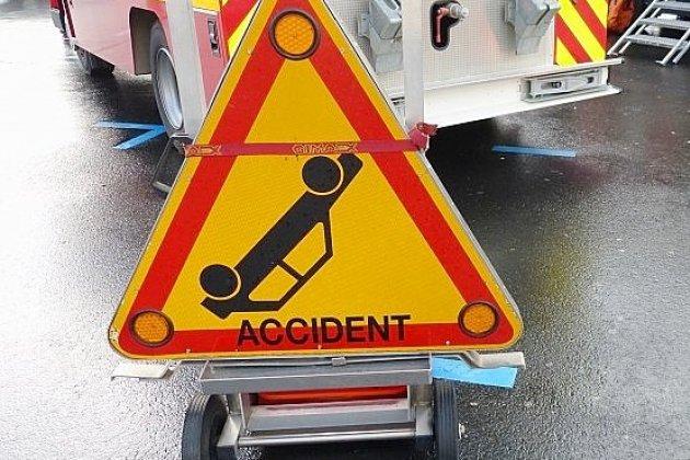 Un blessé grave dans la collision entre deux camionnettes sur l'A131