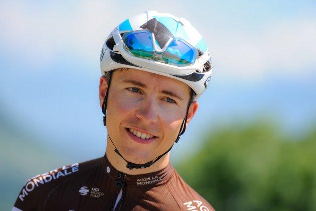 Le coureur de la Manche Benoît Cosnefroy encore tout près de la victoire sur Paris-Tours