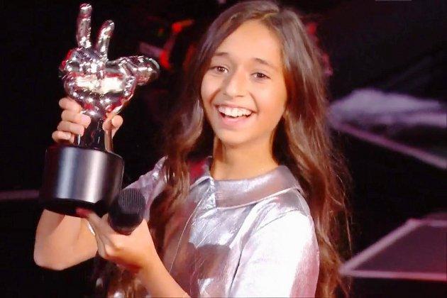 A 10 ans, Rebecca remporte la septième saison de The Voice Kids