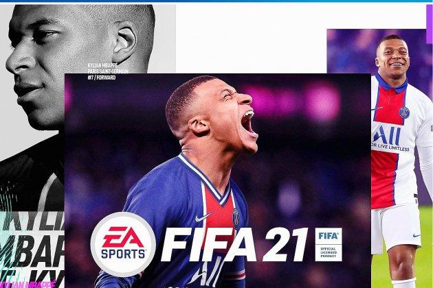 En couverture du jeu FIFA 21, Kylian Mbappé ne plaît pas à tout le monde