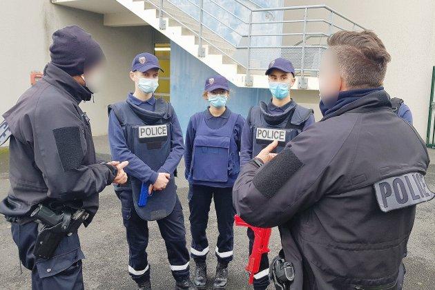 Homme armé à Villemer: une simulation pour les élèves de la sécurité