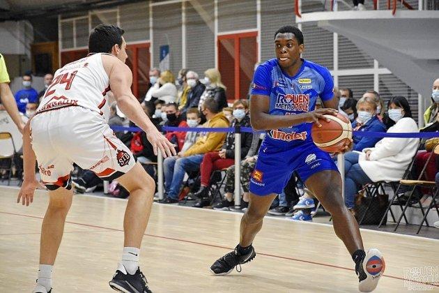 Pro B : le Rouen Métropole Basket victorieux d'Antibes
