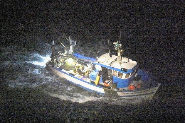 Blessé, un marin pêcheur hélitreuillé dans la nuit