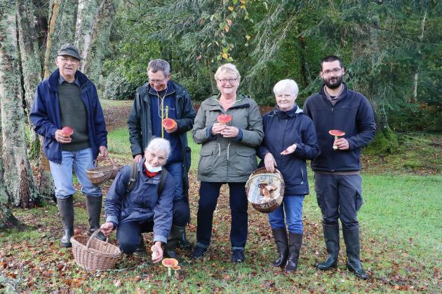 Tout savoir sur les champignons avec l'Association mycologique du Cotentin