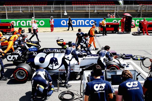Très beau Grand Prix du Portugal pour Pierre Gasly et Esteban Ocon