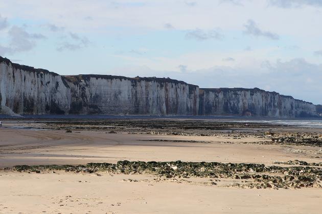 Un pan de falaise s'écroule à 200 mètres d'une plage