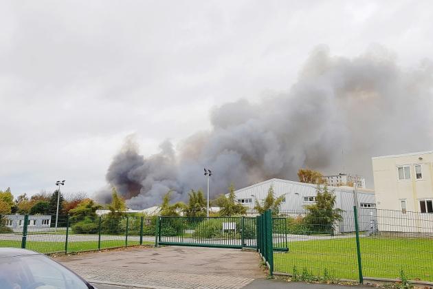 Un ado de 13 ans arrêté après l'incendie de l'entrepôt France Logistique