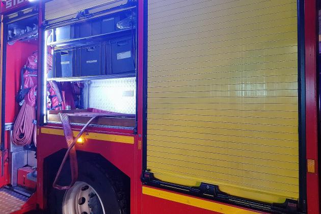 Incendie dans un immeuble : des habitants évacués par échelle