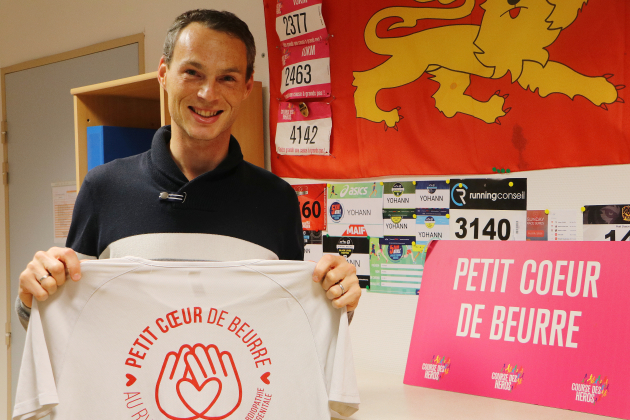 Il court un marathon confiné… dans la caserne de gendarmerie