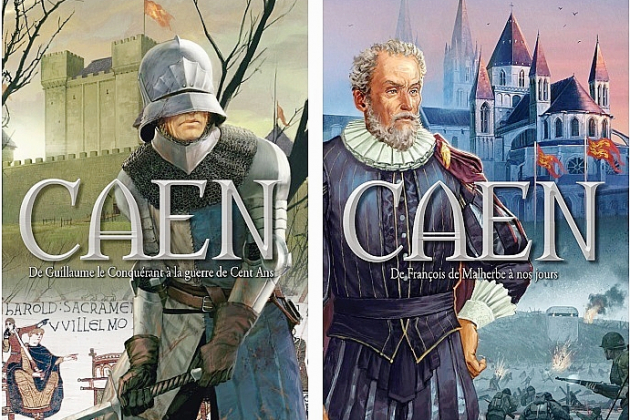 Deux bandes dessinées pour tout savoir sur l'histoire de Caen