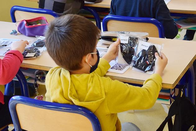 La communauté d'agglo distribue 4000 masques aux écoliers