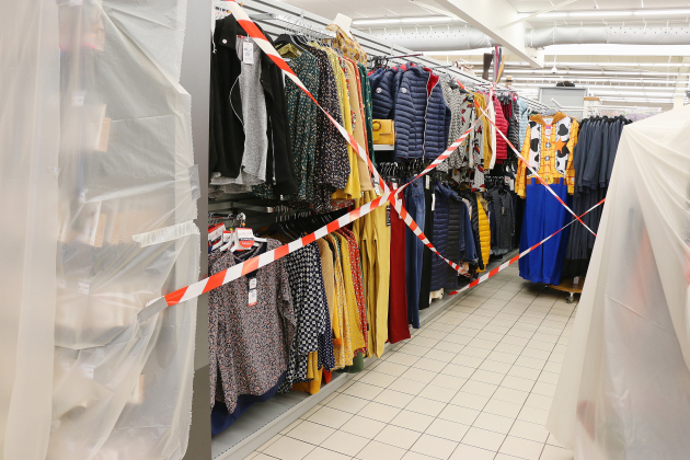 Produits non essentiels: sept magasins mis en demeure pour non-respect