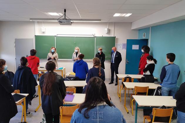 Covid-19 : protocole renforcé au lycée Claude-Monet