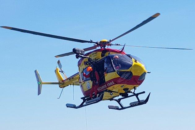 Deux blessés dans un face-à-face sur la route: une conductrice héliportée