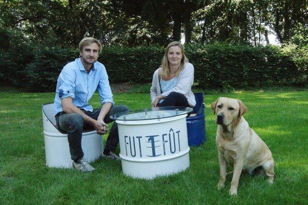 Deux Normands recyclent d'anciens fûts… pour un résultatoriginal