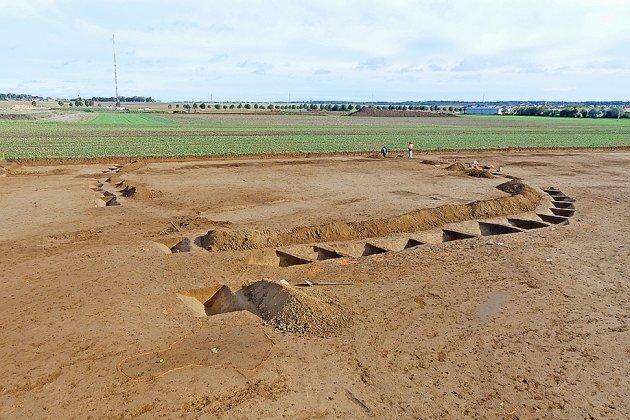 Une tombe princière de l'âge dubronze découverte lors de fouilles
