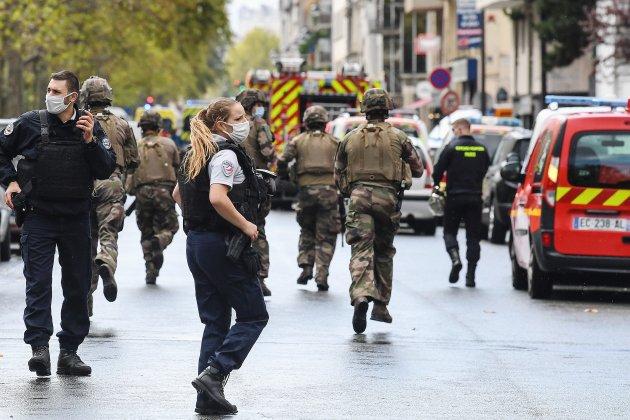 Attaque près des anciens locaux de Charlie Hebdo : un suspect interpelléen Normandie