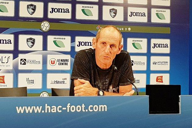 L'entraîneur du HAC remercié à l'issue de la phase aller