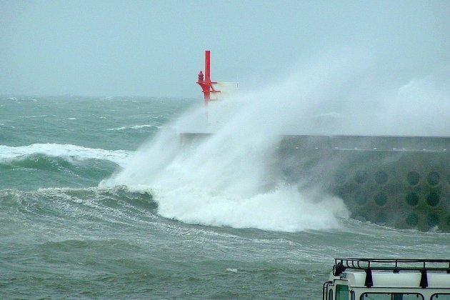 Des rafales de vent jusqu'à 141km/h dans la Manche !