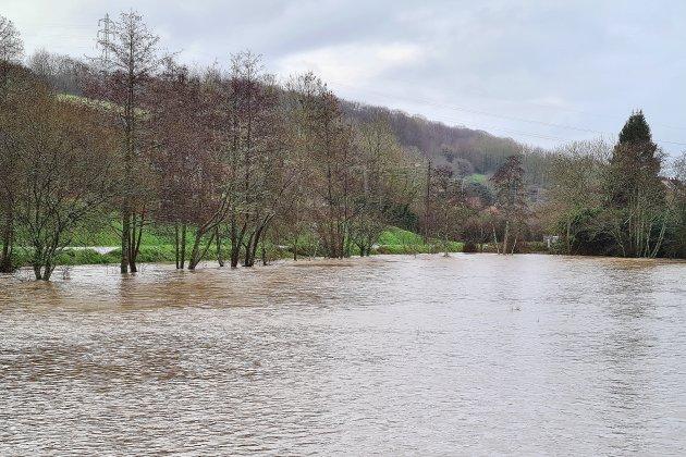Inondations: 24 interventions des sapeurs-pompiers