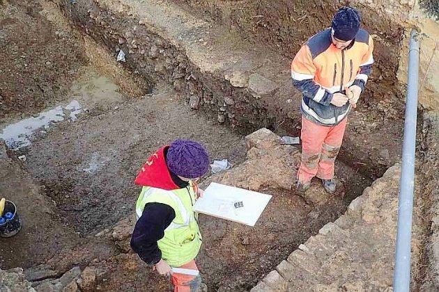 Extension du service des urgences: un diagnostic archéologiqueà l'hôpital