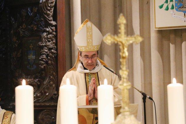 Monseigneur Jacques Habert, nouvel évêque du diocèse de Bayeux-Lisieux