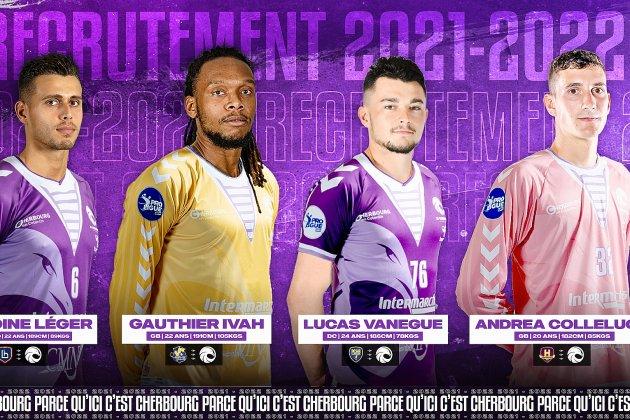 Quatre nouveaux joueurs et sept départs à la JS Cherbourg