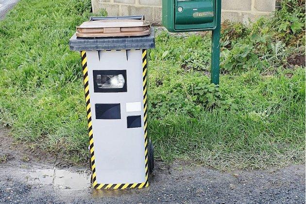 Iltransforme sa poubelle en radar pour faire ralentir lesvoitures
