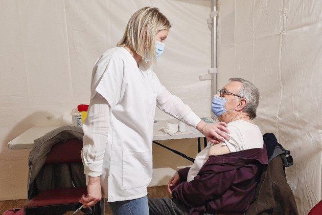 À Lillebonne, organisation millimétrée au centre de vaccination