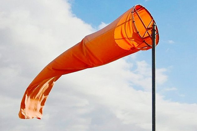 Forts coups de vent: des rafales à plus de 100km/h enregistrées