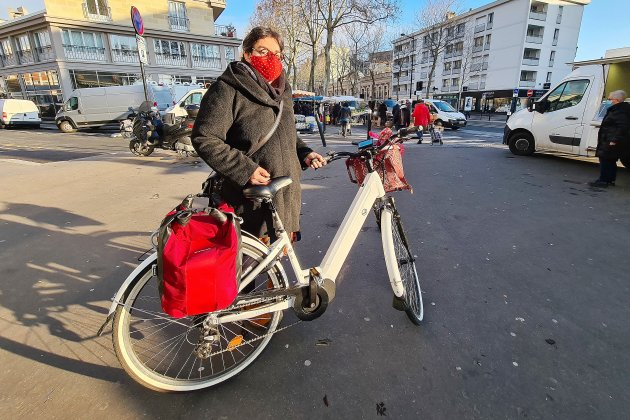 Depuis le confinement, le vélo est devenu son mode de transport favori