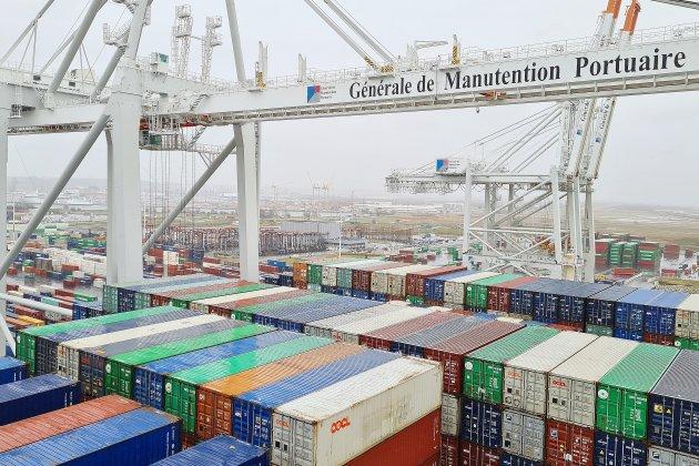 Les portiques géants de Port 2000 inaugurés